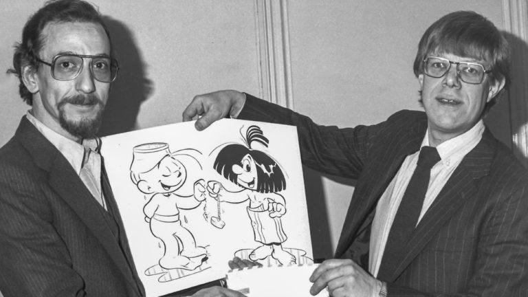 Pristävling 1980: Kenneth Hamberg vann med serien Lycke och Ture.