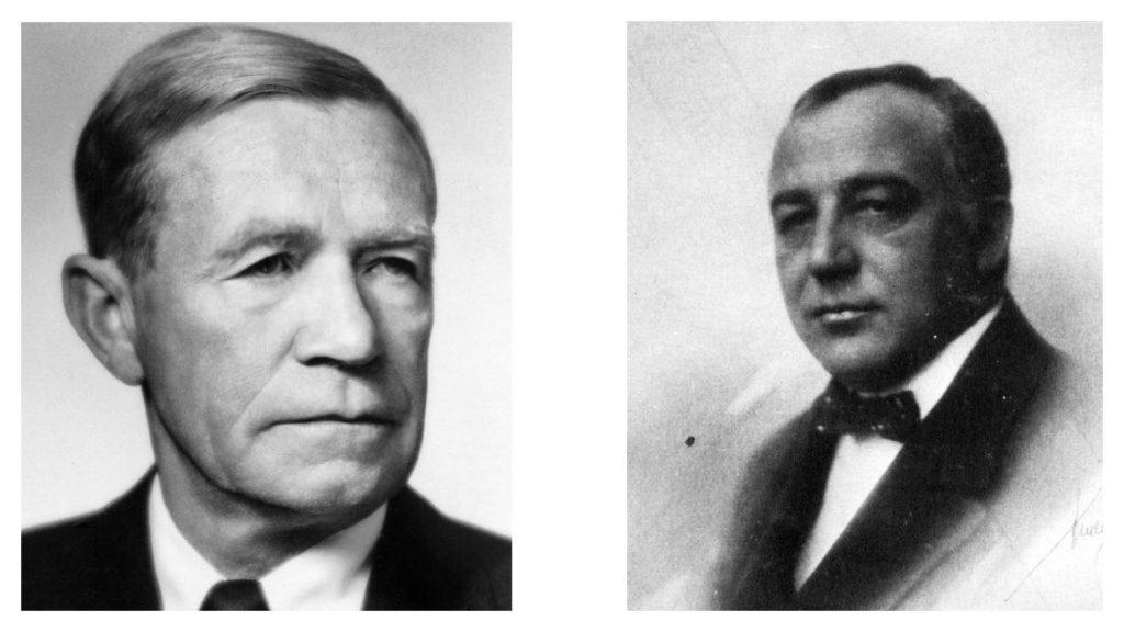 Bjarne Steisvik and Cornelius Bull